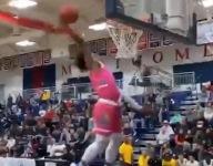 WATCH: Mikey Williams levels up, scores 50 in second game