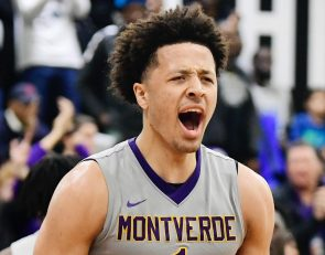 Prized recruit Cade Cunningham staying true to probation-riddled Oklahoma State