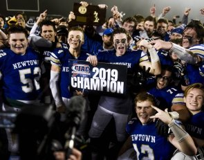 On anniversary of Sandy Hook, Newtown football wins championship on final play
