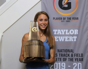 Taylor Ewert named 2019-20 Gatorade National Girls Track and field Athlete of the Year
