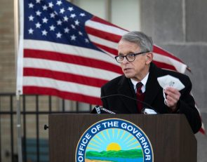 Ohio Gov. Mike DeWine asks schools to not allow fans through December for winter sports
