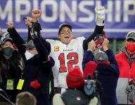Where did Super Bowl LV's star players play high school football?