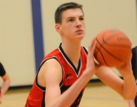 Monster 7-foot-4 15-year-old center Olivier Rioux playing for IMG Academy