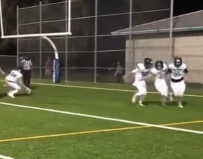 Abby DiCenzo becomes first girl to score rushing TD in Florida HS history